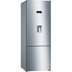 Réfrigérateur Bosch combiné No Frost pose-libre Acier Inoxydable Style