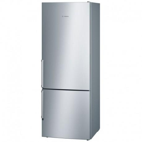 Réfrigérateur Combiné inox low-Frost BOSCH