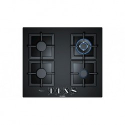 Plaque de cuisson à gaz Vitrocéramique Noir 60cm Bosch