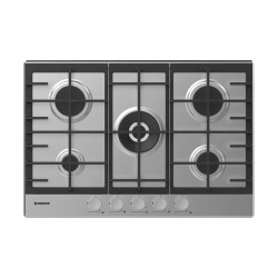Plaque de cuisson Hoover 5 Feux - Acier inoxydable